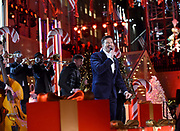 Harry Connick, Jr. performs at the 2017 Rockefeller Center Christmas Tree Lighting Ceremony, Wednesday, Nov. 29, 2017, in New York. (Diane Bondareff/AP Images for Tishman Speyer)