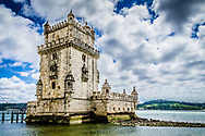The fortified tower built to protect the entrance to the River Tejo.