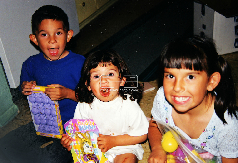 21st April 2008, Belen, New Mexico. Ray and Refugia Moore who adopted their three grandchildren: Samantha,(17) Gary (15) and Brandi (11). All three children have been diagnosed with a genetic heart defect. The two sisters have both had heart transplants and doctors agree Gary will most likely need a transplant too in order to remain alive..PHOTO COURTESY OF THE MOORE FAMILY / Supplied by REBEL IMAGES.john@chapple.biz    www.chapple.biz