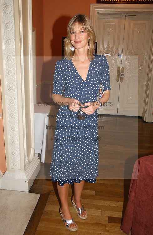 NICOLA FORMBY at a party to celebrate the publication of 'A Much Married Man' by Nicholas Coleridge held at the ESU, Dartmouth House,  37 Charles Street, London W1 on 4th May 2006.<br /><br />NON EXCLUSIVE - WORLD RIGHTS