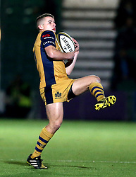 Billy Searle of Bristol Rugby catches the ball - Mandatory by-line: Robbie Stephenson/JMP - 04/11/2016 - RUGBY - Sixways Stadium - Worcester, England - Worcester Warriors v Bristol Rugby - Anglo Welsh Cup