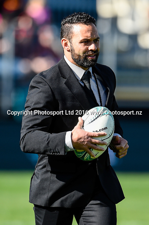 Joe Maddock Asistant coach of Canterbury during the Mitre 10 Cup Rugby Match, Canterbury V Hawkes Bay, AMI Stadium, Christchurch, New Zealand. 11th September 2016. Copyright Photo: John Davidson / www.photosport.nz