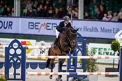 HOUTZAGER-KAYSER Julia (AUT), Sterrehof's Cayetano Z<br /> Hagen - Horses and Dreams 2019<br /> Preis der LVM Versicherung - CSI4* Quali. BEMER-RIDERS TOUR-Wertung<br /> 27. April 2019<br /> © www.sportfotos-lafrentz.de/Stefan Lafrentz