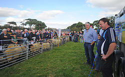 Pictured at the Mayo Breeding Sheep Event in conjunction with Teagasc, which took place on the farm of Sheep Farmer of the Year 2017 Joe Scahill, Westport.<br /> Pic Conor McKeown