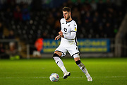 Swansea City defender Joe Rodon (4) during the EFL Sky Bet Championship match between Swansea City and Queens Park Rangers at the Liberty Stadium, Swansea, Wales on 11 February 2020.