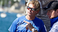 PORTUGAL, Cascais. 7th August 2011. America's Cup World Series. Day 2.  Chris Draper, TEAM KOREA.