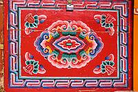 Mongolie, Province de Ovorkhangai, Vallee de l'Orkhon, campement nomade, meubles à l'intérieur d'une yourte // Mongolia, Ovorkhangai province, Orkhon valley, Nomad camp, furniture the in the yurt