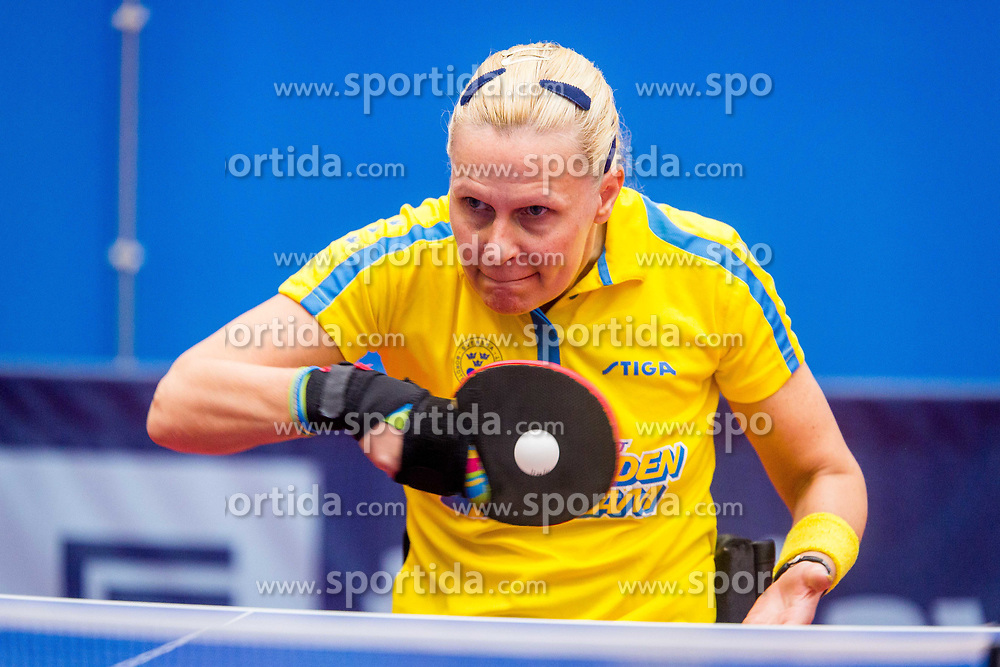 AHLQUIST Anna-carin during day 3 of 15th EPINT tournament - European Table Tennis Championships for the Disabled 2017, at Arena Tri Lilije, Lasko, Slovenia, on September 30, 2017. Photo by Ziga Zupan / Sportida