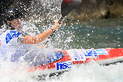 Eva Tercelj (SLO) of Women's K1 Kayak Single at Heats - 1st Run of ICF Kayak/Canoe Slalom Racing World Cup Tacen 2008, on June 28, 2008, Ljubljana, Slovenia. (Photo by Vid Ponikvar / Sportal Images)../ Sportida)