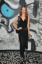 MORWENNA LYTTON COBBOLD at a party to celebrate the first anniversary of SushiSamba at the Heron Tower, 110 Bishopsgate, London EC4 on 12th November 2013.