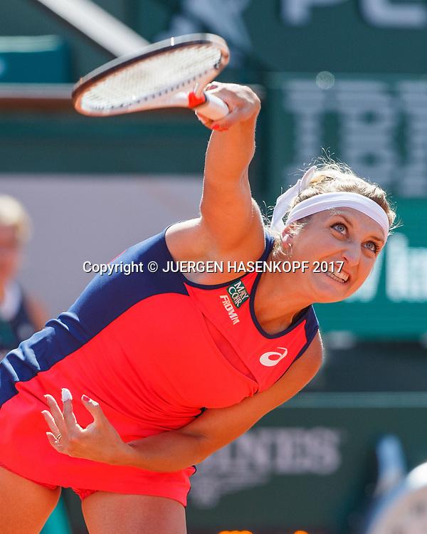TIMEA BACSINSZKY (SUI)<br /> <br /> Tennis - French Open 2017 - Grand Slam / ATP / WTA / ITF -  Roland Garros - Paris -  - France  - 8 June 2017.