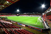 General view inside the Vitality Stadium ahead of the The FA Cup match between Bournemouth and Arsenal at the Vitality Stadium, Bournemouth, England on 27 January 2020.