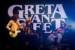 June 17, 2018 - Landgraaf, Limburg, Netherlands - Greta Van Fleet performing live at Pinkpop Festival 2018 in Landgraaf, Netherlands,on 17 June 2018. (Credit Image: © Roberto Finizio/NurPhoto via ZUMA Press)