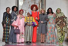 Brigitte Macron Welcomes The African First Ladies - Paris 13 Nov 2019