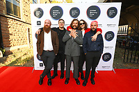 IDLES attend the red carpet during the 2019 Hyundai Mercury Prize, Eventim Apollo, London, UK, Saturday 06 July 2019<br /> Photo JM Enternational