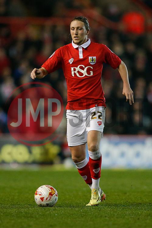 Luke Ayling of Bristol City - Photo mandatory by-line: Rogan Thomson/JMP - 07966 386802 - 17/03/2015 - SPORT - FOOTBALL - Bristol, England - Ashton Gate Stadium - Bristol City v Crewe Alexandra - Sky Bet League 1.