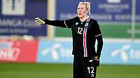 Fotball , 23. janaur 2018 , privatkamp kvinner , Norge - Island<br /> Norway - Iceland<br /> lagbilde  , Iceland team picture island:<br /> Sandra Sigurdardottir 12 , Island
