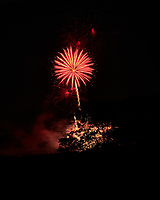 Montgomery Township Independence Day Fireworks. Image taken with a Fuji X-H1 camera and 80 mm f/2.8 macro lens (ISO 200, 80 mm, f/11, 4 sec).