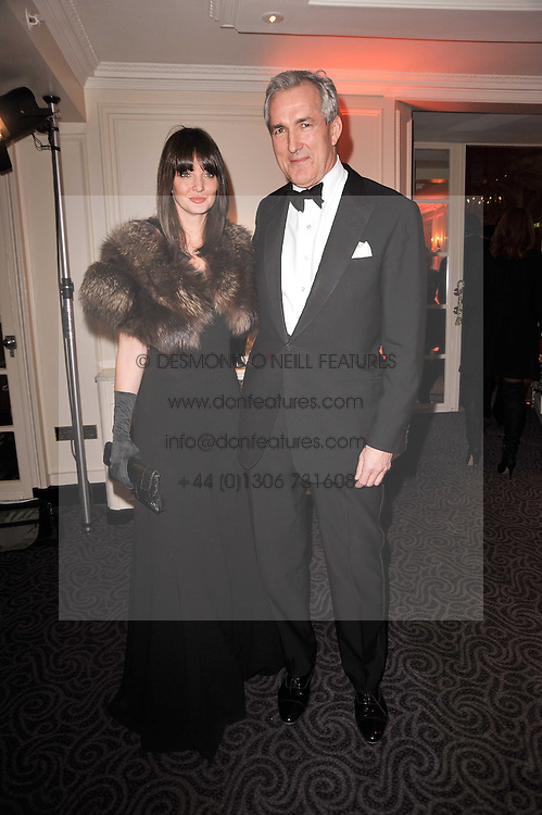 JEREMY KING and    at Quintessentially's 10th birthday party held at The Savoy Hotel, London on 13th December 2010.