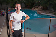 Aquatics.Jonah Schreiner..Jonah Shreiner, age 17, was doing his homework one evening after school when he realized that the house was unusually quiet and his 18-month old sister was nowhere to be found.  He noticed the dog door leading to the pool area was open, and he ran outside to find his little sister floating face down in the pool.  The training he received just months before to become a lifeguard kicked in.  He pulled the toddler from the water and performed CPR for an agonizing 4 minutes before she regained consciousness.  Jonah's sister is alive today because of his lifeguard training and quick actions.