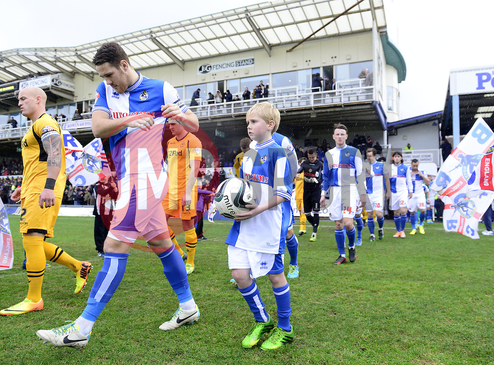 - Photo mandatory by-line: Joe Meredith/JMP - Tel: Mobile: 07966 386802 25/01/2014 - SPORT - FOOTBALL - Memorial Stadium - Bristol - Bristol Rovers v Newport County - Sky Bet League Two