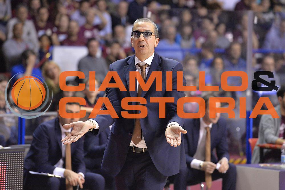 Walter De Raddaele<br /> Umana Reyer Venezia - Germani Basket Brescia<br /> Lega Basket Serie A 2016/2017<br /> Venezia 18/12/2016<br /> Foto Ciamillo-Castoria