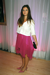 LADY NATASHA RUFUS-ISAACS at the Lauren-Perrier 'Pop Art' Pink Party in aid of Capital 95.8's Help A London Child, held at Suka at the Sanderson Hotel, 50 Berners Street, London W1 on 25th April 2007.<br />