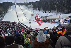 13.02.2013, Vogtland Arena, Kingenthal, GER, FIS Ski Sprung Weltcup, im Bild Tolle Stimmung in Klingenthal // during the FIS Skijumping Worldcup at the Vogtland Arena, Kingenthal, Germany on 2013/02/13. EXPA Pictures © 2013, PhotoCredit: EXPA/ Eibner/ Bert Harzer..***** ATTENTION - OUT OF GER *****