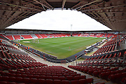 Doncaster Rovers Keepmoat Stadium before the Sky Bet League 1 match between Doncaster Rovers and Peterborough United at the Keepmoat Stadium, Doncaster, England on 19 March 2016. Photo by Ian Lyall.