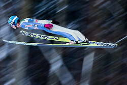06.01.2015, Paul Ausserleitner Schanze, Bischofshofen, AUT, FIS Ski Sprung Weltcup, 63. Vierschanzentournee, Probedurchgang, im Bild Aleksander Zniszczol (POL) // Aleksander Zniszczol of Poland soars trought the air during his Trial Jump for the 63rd Four Hills Tournament of FIS Ski Jumping World Cup at the Paul Ausserleitner Schanze, Bischofshofen, Austria on 2015/01/06. EXPA Pictures © 2015, PhotoCredit: EXPA/ Johann Groder