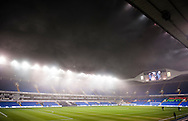 Fog over White Hart Lane before the Barclays Premier League match at White Hart Lane, London<br /> Picture by Jack Megaw/Focus Images Ltd +44 7481 764811<br /> 02/11/2015