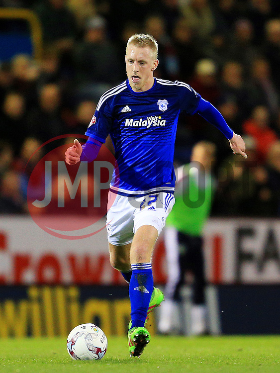 Lex Immers of Cardiff City  - Mandatory by-line: Matt McNulty/JMP - 05/04/2016 - FOOTBALL - Turf Moor - Burnley, England - Burnley v Cardiff City - SkyBet Championship