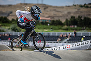 Women Elite #155 (MECHIELSEN Drew) CAN at the 2018 UCI BMX World Championships in Baku, Azerbaijan.