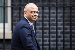 © Licensed to London News Pictures. 06/03/2018. London, UK. Secretary of State for Housing, Communities and Local Government Sajid Javid on Downing Street for the weekly Cabinet meeting. Photo credit: Rob Pinney/LNP