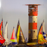 Solent Chart, Round the island Race, Cowes, Isle of Wight