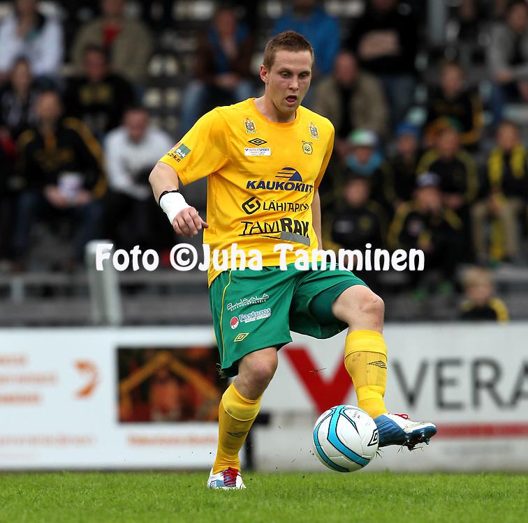 13.5.2013, Tammelan stadion, Tampere.<br /> Ykk&ouml;nen 2013, Ilves - Sein&auml;joen Jalkapallokerho.<br /> Antti Ojanper&auml; - Ilves