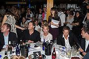 MATTHEW FREUD; ARPAD BUSSON; TRUDIE STYLER; HUGH GRANT; BEN GOLDSMITH, The Hoping Foundation  'Rock On' benefit evening for Palestinian refugee children.  Cafe de Paris, Leicester Sq. London. 20 June 2013