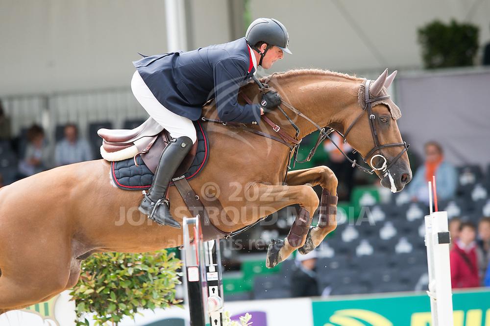 Guy Williams (GBR) & Golddigger - Jumping - Eversheds Prijs - CHIO Rotterdam - Kralingen, Rotterdam, Netherlands - 20 June 2014