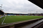Scunthorpe Uniteds ground,Glanford Park before the Sky Bet League 1 match between Scunthorpe United and Sheffield Utd at Glanford Park, Scunthorpe, England on 19 December 2015. Photo by Ian Lyall.