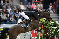 Delaveau, Patrice (FRA), Lacrimoso 3 HDC<br /> Göteborg - Horse Show FEI World Cup Final 2016 <br /> FEI Weltcup Springen Finale II<br /> © www.sportfotos-lafrentz.de / Stefan Lafrentz
