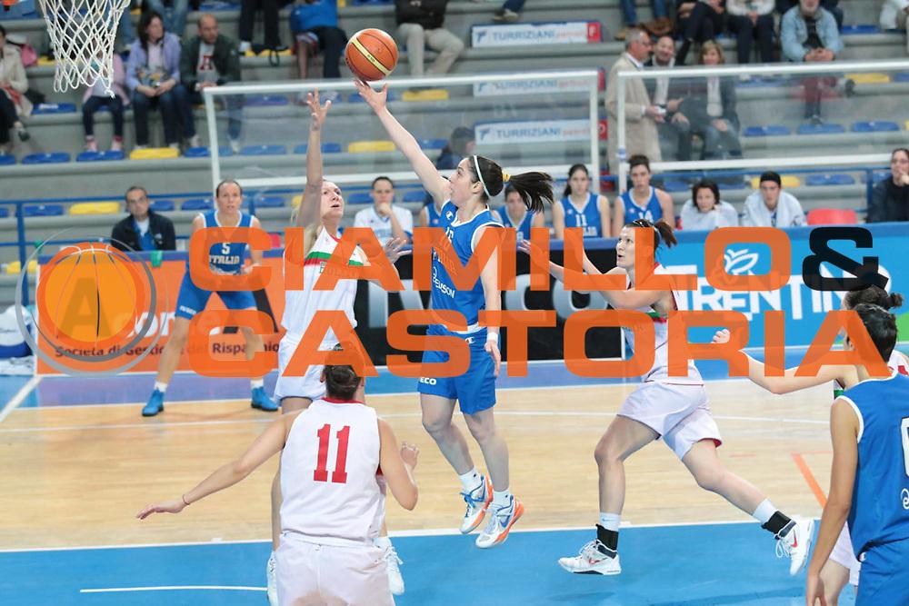 DESCRIZIONE : Frosinone amichevole 2012-2013 Italia femminile Bulgaria<br /> GIOCATORE : Dotto Francesca<br /> CATEGORIA : tiro<br /> SQUADRA : Italia<br /> EVENTO : amichevole 2012-2013 <br /> GARA : Italia femminile Bulgaria<br /> DATA : 25/05/2013<br /> SPORT : Pallacanestro <br /> AUTORE : Agenzia Ciamillo-Castoria/ M.Simoni<br /> Galleria : Lega Basket A 2012-2013  <br /> Fotonotizia :  Frosinone amichevole 2012-2013 Italia femminile Bulgaria<br /> Predefinita :