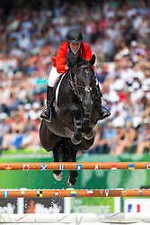 Beezie Madden, (USA), Cortes C - World Champions, - Second Round Team Competition - Alltech FEI World Equestrian Games™ 2014 - Normandy, France.<br /> © Hippo Foto Team - Leanjo De Koster<br /> 25/06/14