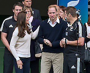 KATE & Prince William Watch Rippa Rugby, Dunedin