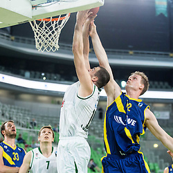 20151111: SLO, Basketball - EuroCup 2015/16, KK Union Olimpija vs EWE Baskets Oldenburg