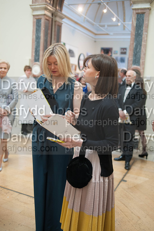 LADY HELEN TAYLOR; LADY SARAH CHATTO, Royal Academy Annual Dinner 2013. Piccadilly. London. 4 June 2013.