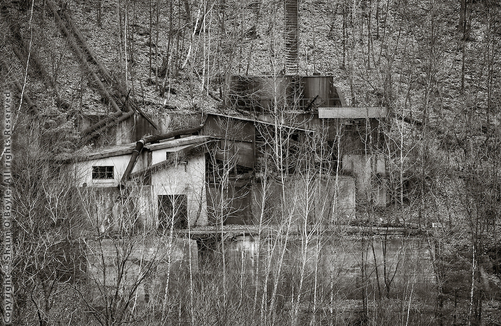 Ruins, Glen Burn Colliery, Shamokin, PA
