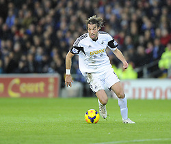 Swansea City's Michu - Photo mandatory by-line: Joe Meredith/JMP - Tel: Mobile: 07966 386802 03/11/2013 - SPORT - FOOTBALL - The Cardiff City Stadium - Cardiff - Cardiff City v Swansea City - Barclays Premier League