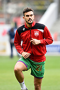 Bristol City midfielder Marlon Pack warms up during the Sky Bet Championship match between Nottingham Forest and Bristol City at the City Ground, Nottingham, England on 27 February 2016. Photo by Jon Hobley.