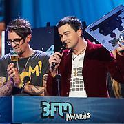 NLD/Amsterdam/20130418- Uitreiking 3FM Awards 2013, beste band 2013 voor Kane, Dinand Woesthoff
