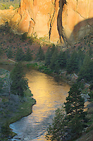Sunrise on Crooke River,  Smith Rock State Park Oregon